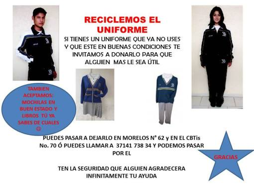 Reciclar Uniforme