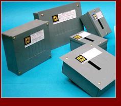 Cajas para centros de carga.