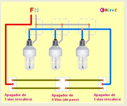 Curso de instalaciones el ctricas tema 15 instalaci n de - Hacer instalacion electrica domestica ...
