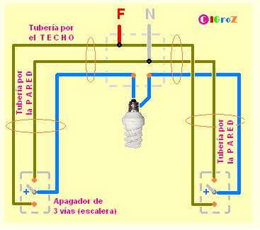 Solucionado Diagrama De Circuito De Escalera Yoreparo