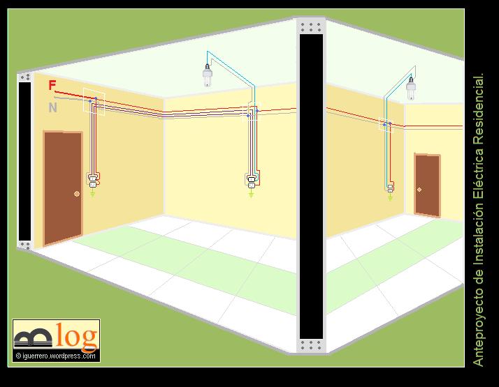 T picos de instalaciones el ctricas el espacio del ing for Instalacion electrica de una vivienda paso a paso
