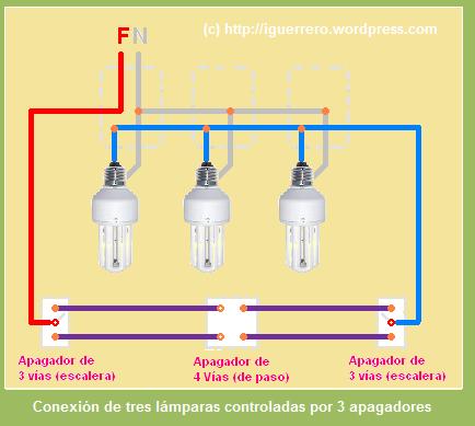 3 l mparas m todo de corto circuito el espacio del - Hacer instalacion electrica domestica ...