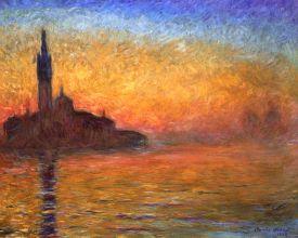 Claude-Monet-Atardecer-en-Venecia