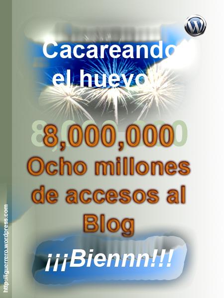 8 millones visitas
