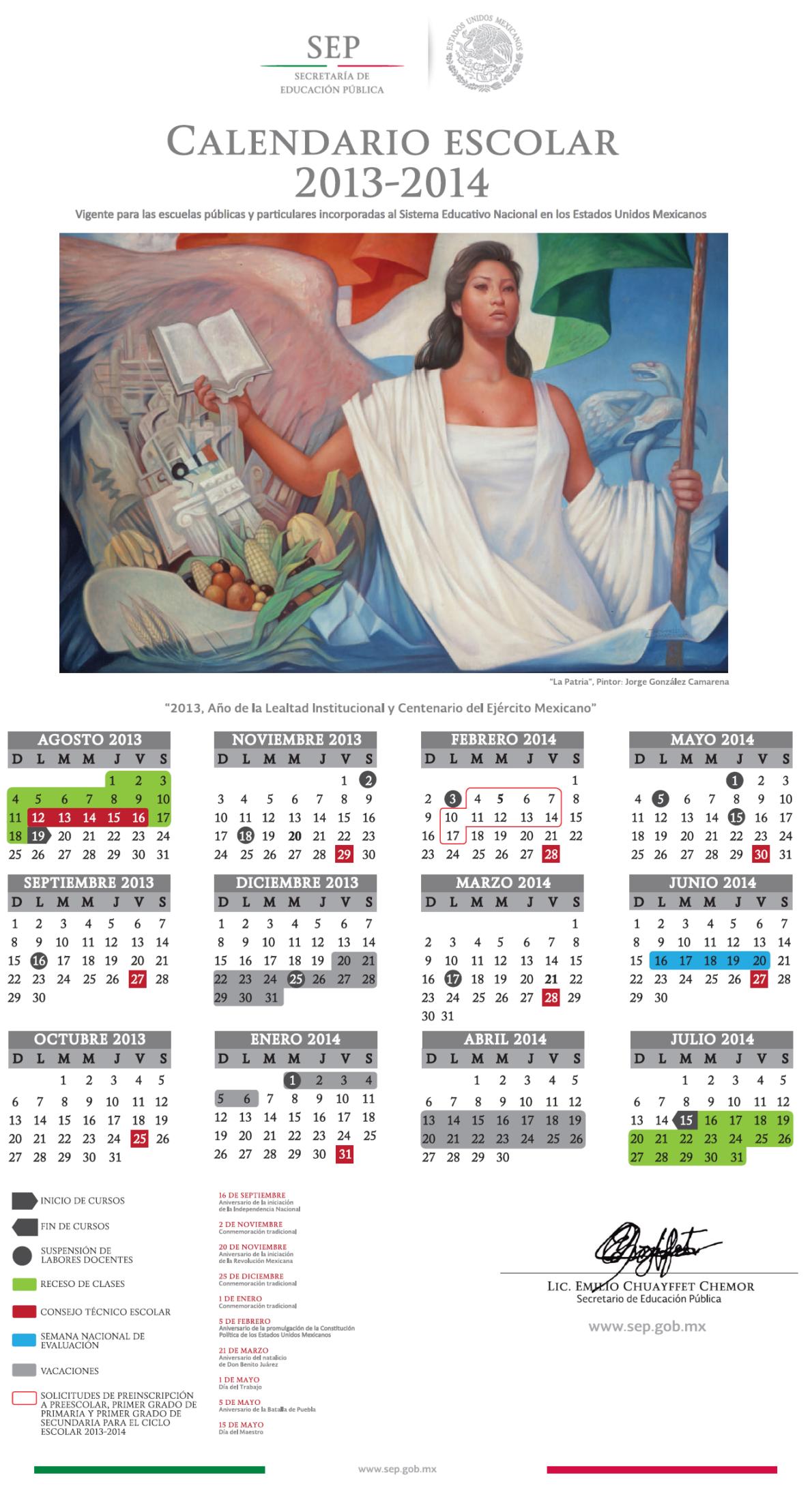 Calendario Oficial Calendario Oficial Calendario Oficial