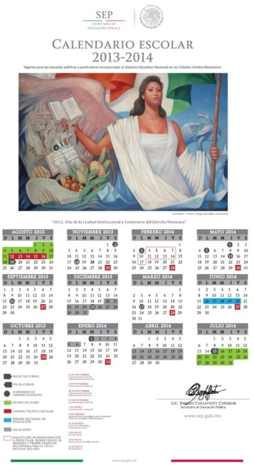 Calendario Escolar Oficial 2013-2014 Descárgalo de aquí…
