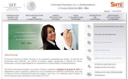 16 junio 2013 el espacio del ing i guerrero for Concurso para plazas docentes