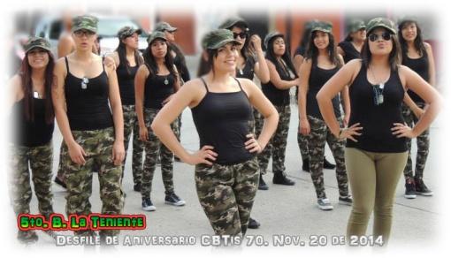 La teniente Desfile de Aniversario
