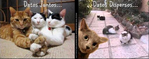 Datos Juntos Datos Dispersos