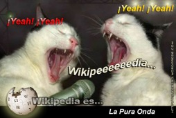 Wikipedia es la Pura Onda