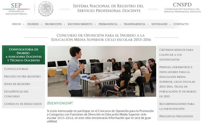 concurso de oposici n para el ingreso a la educaci n media