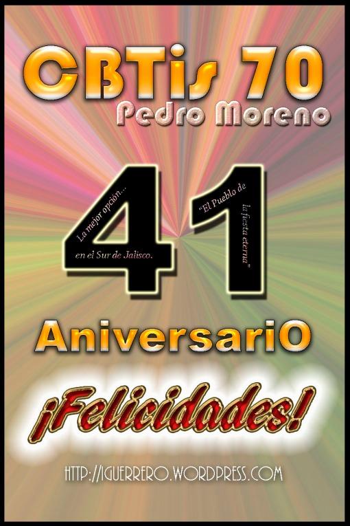 Aniversario 41a