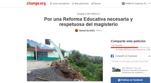 Reforma Educativa Firmas