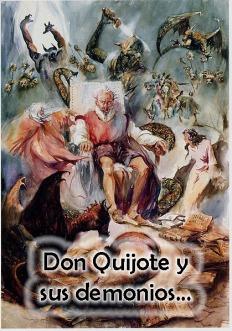 Don Quijote asediado por demonios
