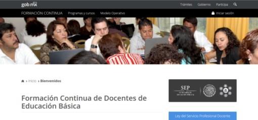 portal cursos SEP