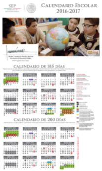 Calendario SEP 2016-2017