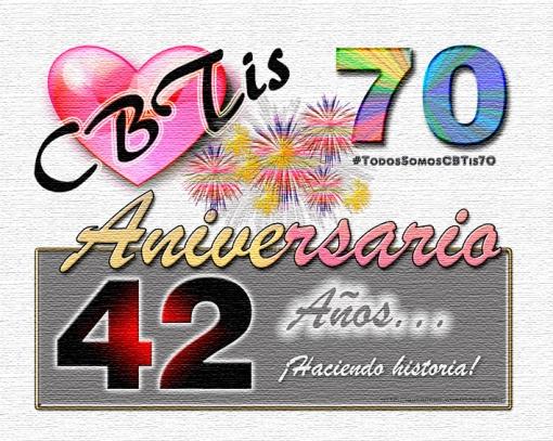 logocbtis70aniversario42atexturizado