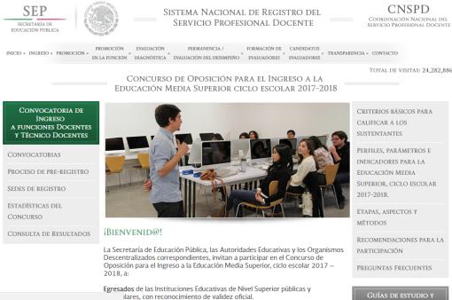 Concurso de plazas docentes 2017 2018 nb y nms el for Plazas concurso docente 2016