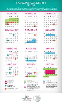 Calendario SEP 2017-2018